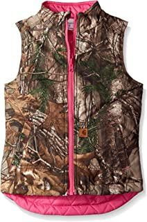 Big Girls' Reversible Camo Vest