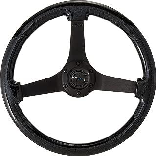 NRG Innovations ST-036BSB-BK Black Sparkled Wood Grain Wheel (3