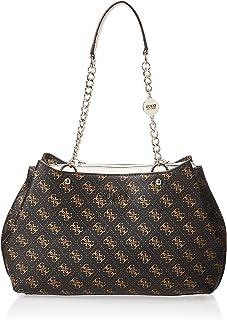 Guess Womens Satchel Bag, Brown - SG767109