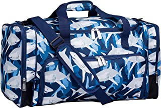 Wildkin Kids Weekender Duffel Bag for Boys and Girls, Carry-On Size and Perfect for Weekend or Overnight Travel, 600-Denie...
