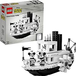 レゴ(LEGO) アイデア 蒸気船ウィリー ディズニー 21317 ブロック おもちゃ