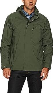 Men's Water Resistant Midweight Jacket with Polar Fleece Lining