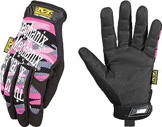 Mechanix Wear - Women's Original Pink Camo Work Gloves (Large, Pink Camouflage)