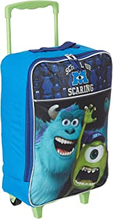 Disney Monsters University Rolling Luggage, Blue, One Size