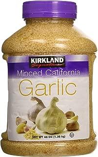 Best kirkland signature minced california garlic 48 ounce Reviews