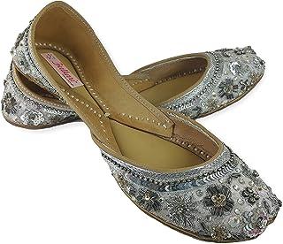ef2e6f47d03 Silver Women's Ballet Flats: Buy Silver Women's Ballet Flats online ...