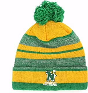 OTS NHL Men's Huset Cuff Knit Cap with Pom