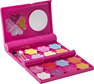Playkidz - My First Princess Tri Fold Makeup Cosmetics Set - Fashion Makeup Palette with Mirror for Girls