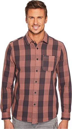 Volcom - B-Side Long Sleeve Flannel