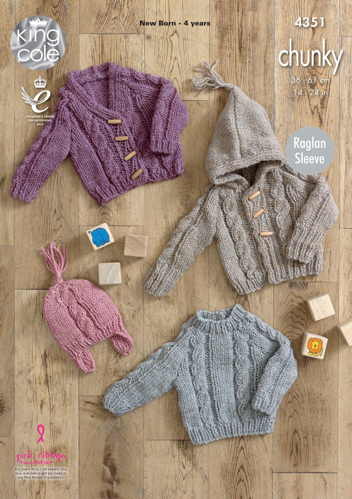 Raglan Sleeve Baby Cardigan Pattern | Sewing Patterns for Baby