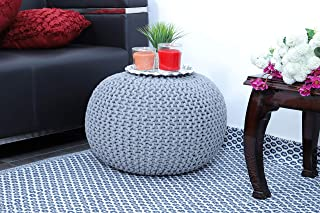 Best knitted floor pouf Reviews