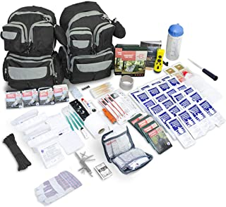 Emergency Zone Urban Survival 72-Hour Bug Out/Go Bag Survival Kit | Discrete and Non-Tactical | Prepare for Hurricanes, Earthquakes, Wildfire, Floods, Tornadoes | Now Includes BONUS Water Filter Straw