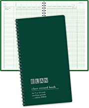 "Class Record Book for 9-10 Weeks. 50 Names. Smaller Size 7"" x 11"" (R9010)"