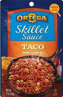 Ortega Skillet Sauce, Taco Sauce, 7 Ounce (Pack of 6)