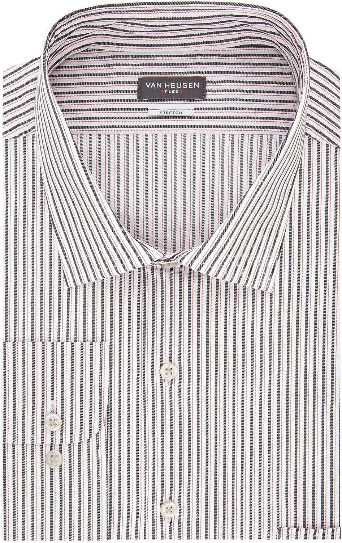 Van Heusen Men's Size Tall Fit Stretch Shirts Flex Cheap mail order sales Dress Cheap sale Collar
