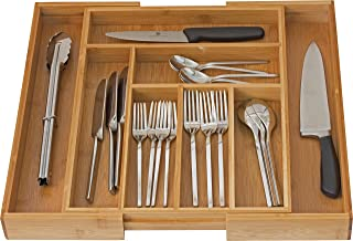 Home-it Expandable use for, Utensil Flatware Dividers-Kitchen Drawer Organizer-Cutlery..