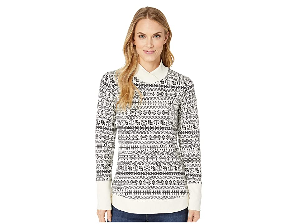 Columbia Holly Peaktm Jacquard Long Sleeve Shirt (Light Bisque) Women