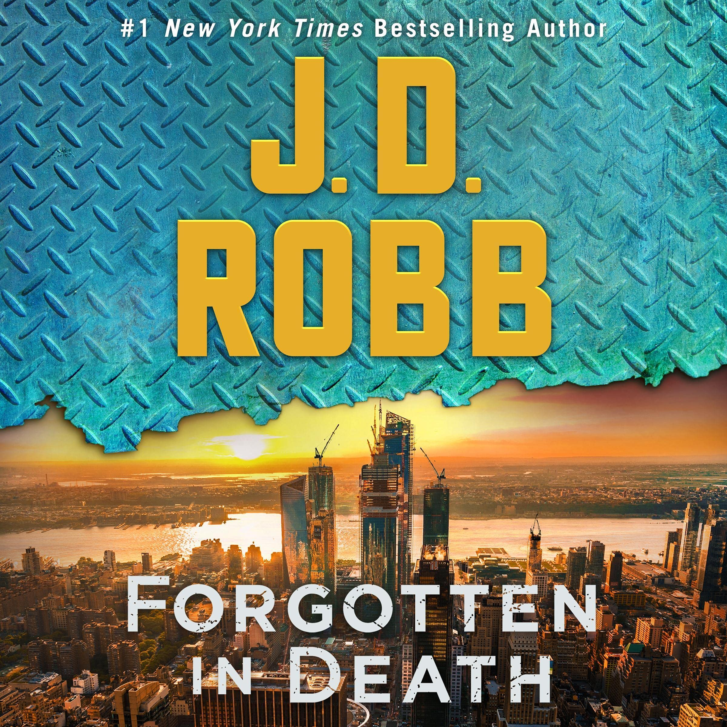 Cover image of Forgotten in Death by J. D. Robb