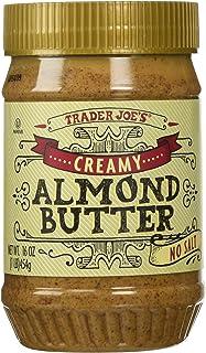 Trader Joe's Creamy Almond Butter No Salt 16 Oz