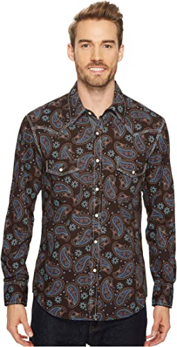Rock and Roll Cowboy - Long Sleeve Snap B2S4126