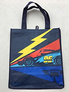Disney Pixar Cars Lightning McQueen Large Reusable Tote Bag