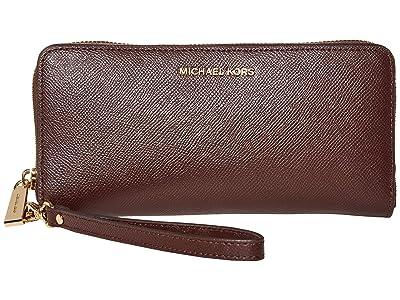 MICHAEL Michael Kors Jet Set Travel Continental (Barolo) Bi-fold Wallet