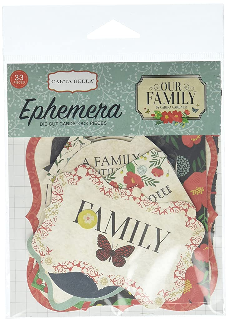 Carta Bella Paper Company Our Our Family Ephemera