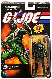 G.I. Joe Collectors Club 2008 Exclusive Cobra Night Viper Action Figure
