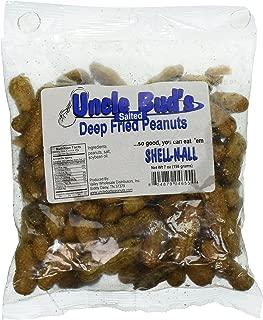 Salted Deep Fried Peanuts -Eat 'Em Shell-n-all 7 oz