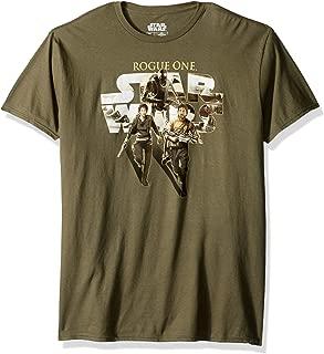 Star Wars Men's Jyn Erso, Cassian, K-2so of Rogue One T-Shirt