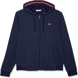 Lacoste Women's Tennis Hooded Zippered Fleece Sweatshirt