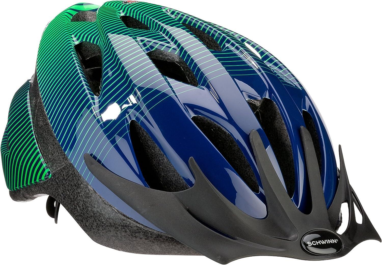 Schwinn Thrasher Bike Helmet, Lightweight Microshell Design, Sizes for Adults, Youth and Children : Sports & Outdoors