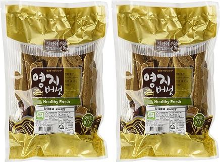 100g x 2packs Korean Organic Red Reishi Mushroom Slice Ganoderma lucidum Lingzhi