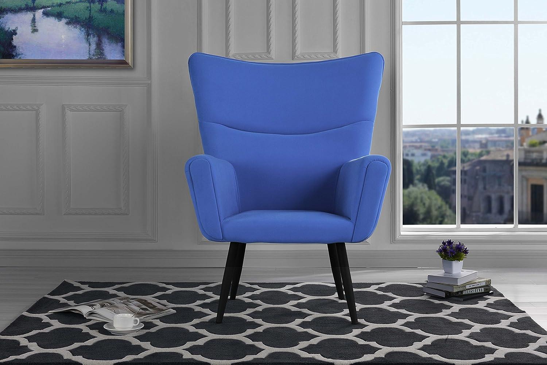 Super-cheap Mid-Century Modern Velvet Accent Cheap sale Livi Style Futuristic Armchair