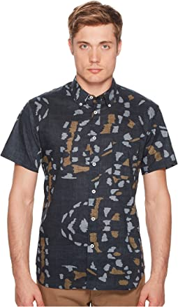 Short Sleeve Tuscumbia Print Shirt