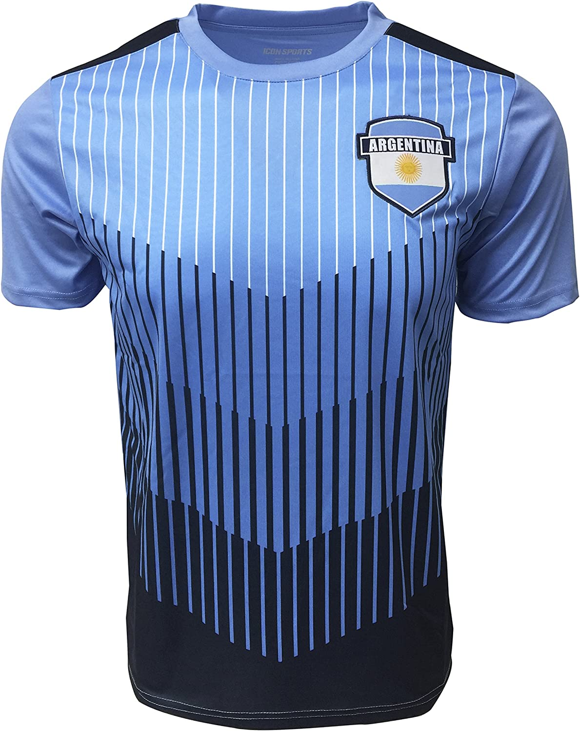 Icon Sports Argentina Training Jersey Regular discount for Kids AFA S Price reduction and Adults