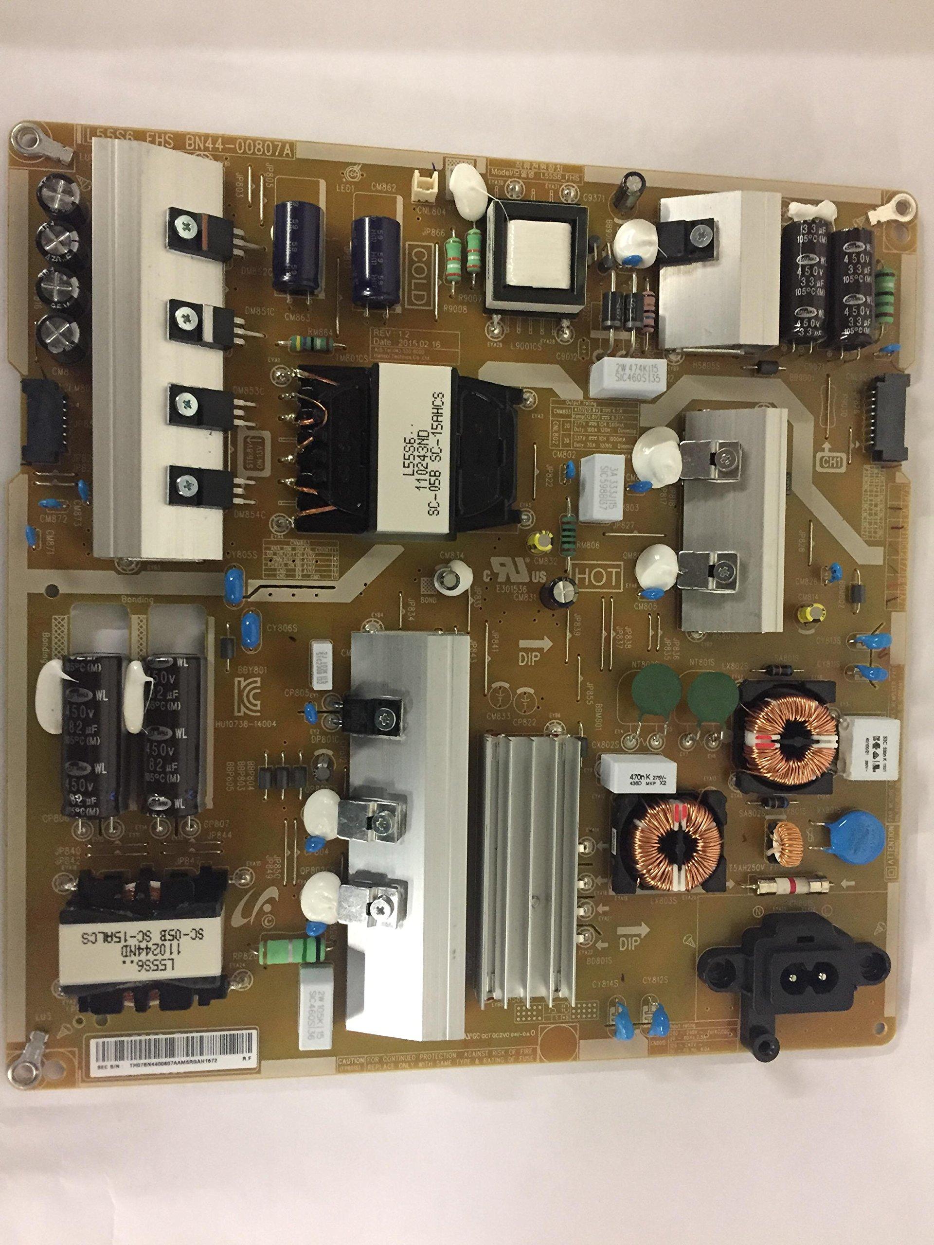 Samsung televisor Led un50ju6401 F l55s6 _ FHS Fuente de alimentación, BN44 – 00807 A: Amazon.es: Electrónica
