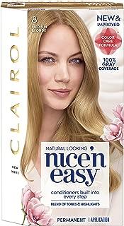 Clairol Nice'n Easy Permanent Hair Color, 8 Medium Blonde, 1 Count