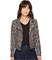 Sanctuary - Poison & Leopard Moto Jacket