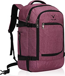 Hynes Eagle Travel Backpack 40L Flight Approved Carry on Backpack, Red Violet 2018 (Purple) - HE0691-4N