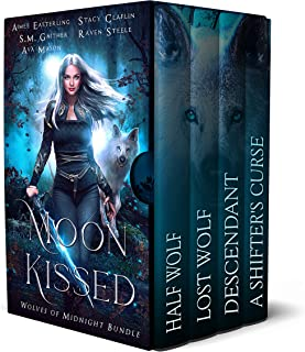 Moon Kissed: Wolves of Midnight Bundle (English Edition)