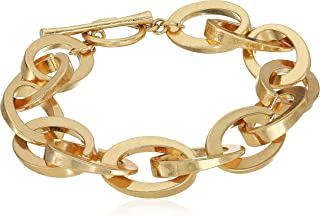 Womens Rolo Bar Ring Bracelet