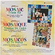 Jennifer's Mosaics K129 Mosaic Picture Frame Kit, Makes 2 Frames
