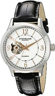 Men's 987.01 Legacy Analog Display Automatic Self Wind Black Watch