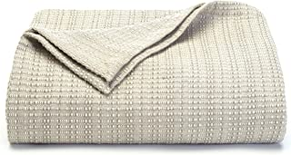 Tommy Bahama Bamboo Woven Cotton Blanket, King,