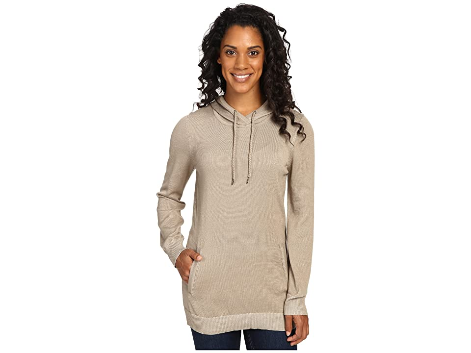 ExOfficio Milena Hoodie Tunic (Tawny Heather) Women