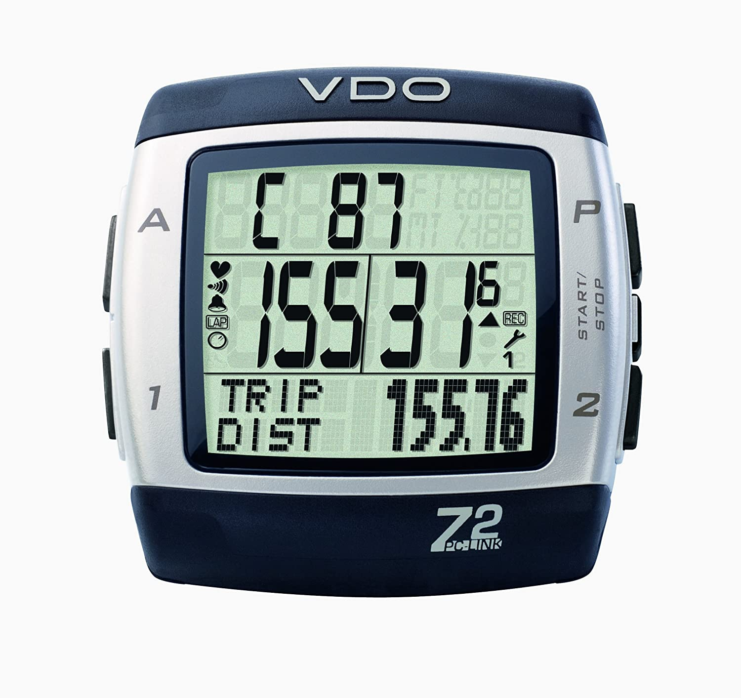 VDO Z2PC Link Heart Rate Monitor with 日本未発売 PC Computer 内祝い and Sync Cycle