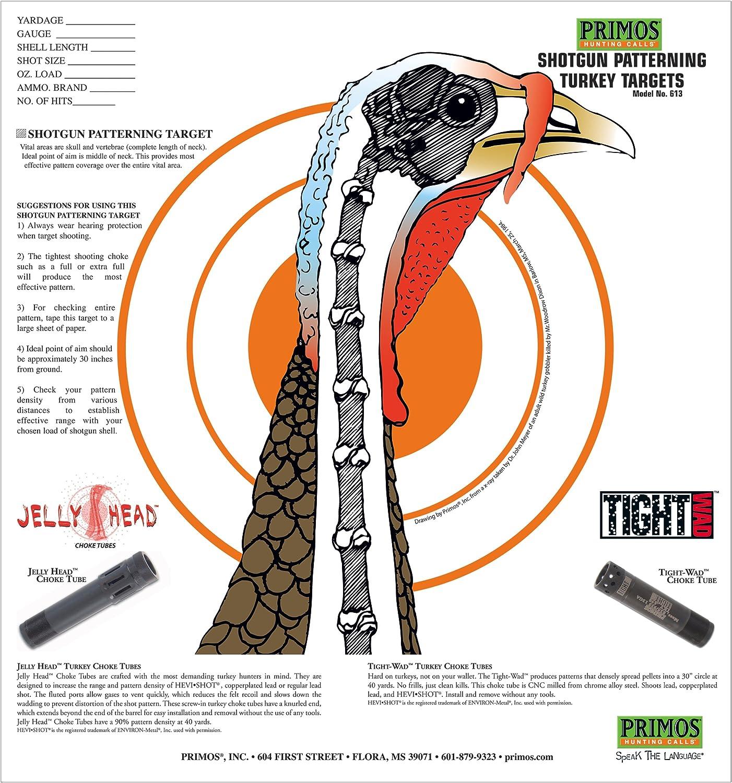 2021 Primos Indianapolis Mall Shotgun Patterning Target Turkey
