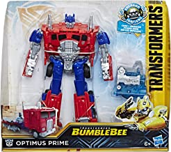 Transformers Bumblebee Movie Toys, Energon Igniters Nitro Series Optimus Prime Action Figure Included Core Powers Driving Action Toys for Kids 6 and Up