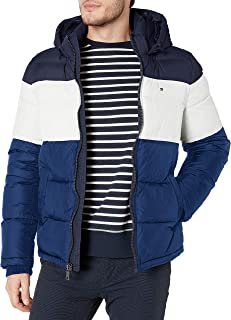 Men's Classic Hooded Puffer Jacket (Standard and Big & Tall)